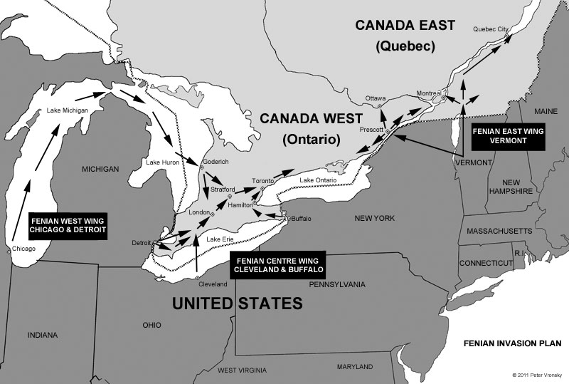 Fenian Invasion of Canada Plan